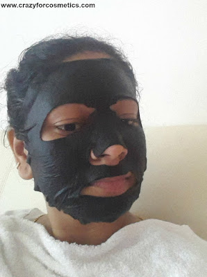 Pore cleaning face mask
