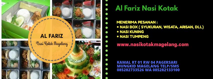AL FARIZ Nasi Kotak Magelang | Nasi box Magelang, Nasi Kuning Magelang