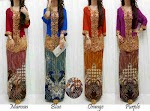 Stelan Kebaya Renda Emas SOLD OUT