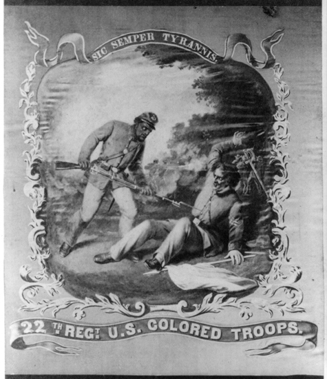 Flag of 22nd USCT Regiment