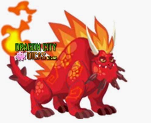 Dragão Rocha Ardente