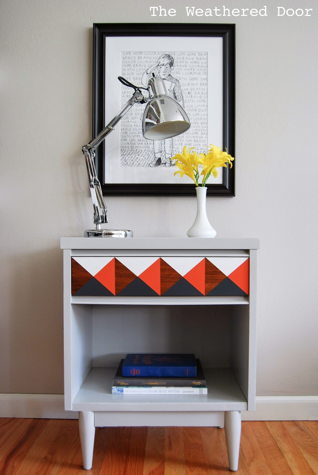 andu2026 iu0027m back at it with this geometric and mid century mix that i love so