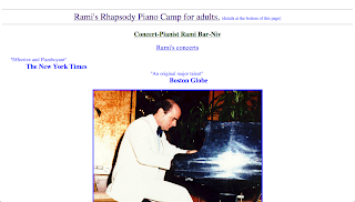Rami Bar-Niv Pianist, Composer, and Master-Teacher performing and teaching all over the world