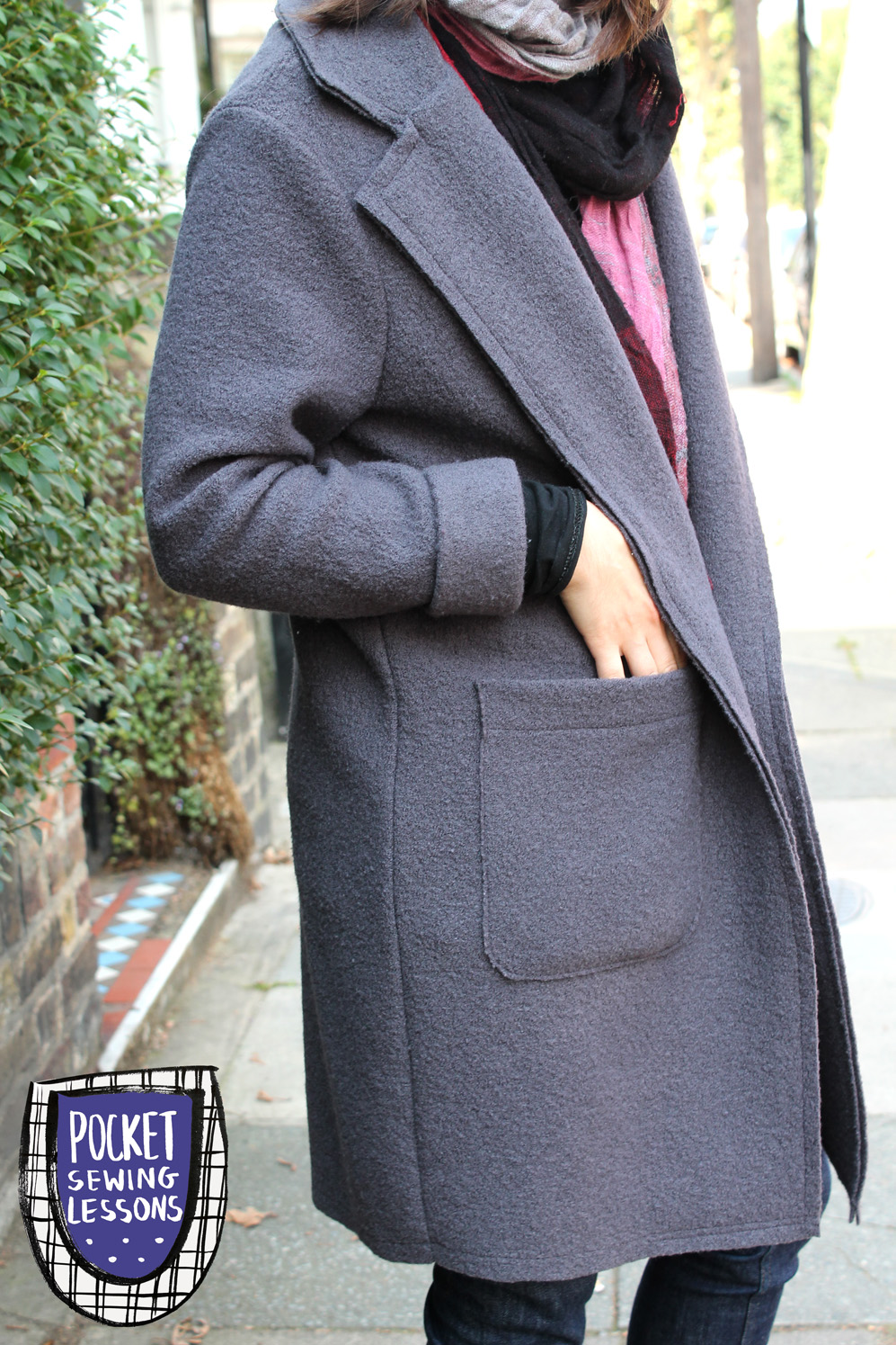 Pocket Sewing Lessons : Sewing Project: Boiled Wool Coat