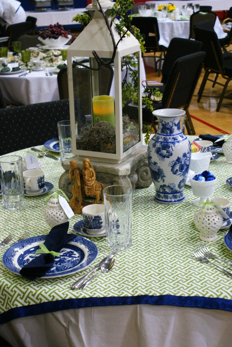 Centerpiece Ideas For Luncheons : Spring luncheon stage and table decoration ideas