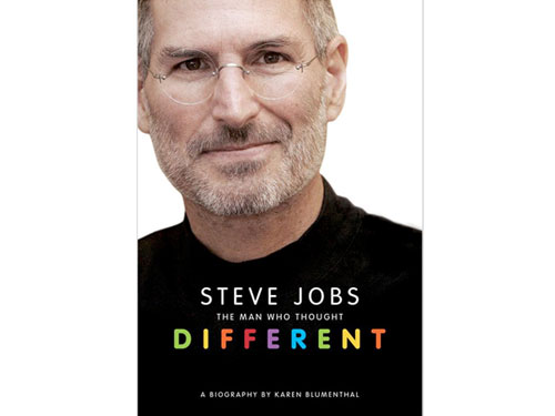 Book Wind: Steve Jobs The Man Who Thought Different, a biography by ...