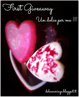 Giveaway Un dolce per me!!!