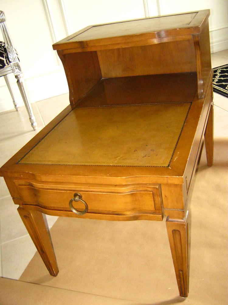 Take Two: Before And After: Two Tier End Table