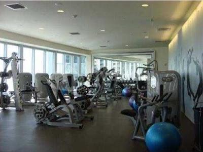 Gimnasio del condominio mas lujos de Downtown Miami en Brickell