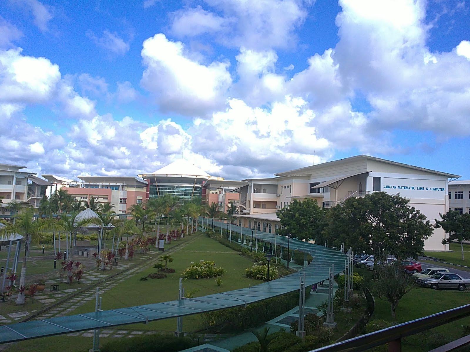 Panorama sebahagian kawasan PMU. Gambar diambil dari bangunan Pusat ...