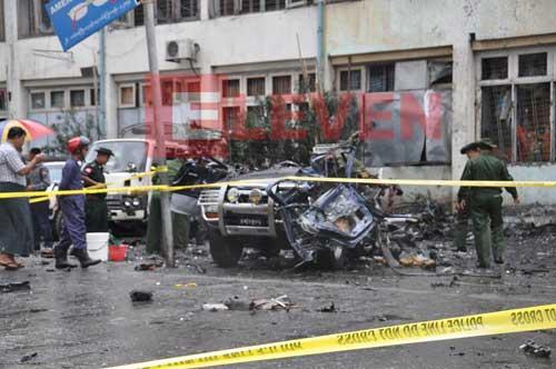 Bom di Yangon, Myanmar Tuduh Tiga Muslim Pelakunya
