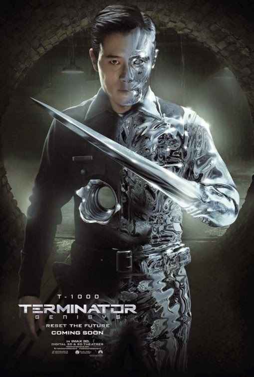 terminator 5 genisys movie � new character posters