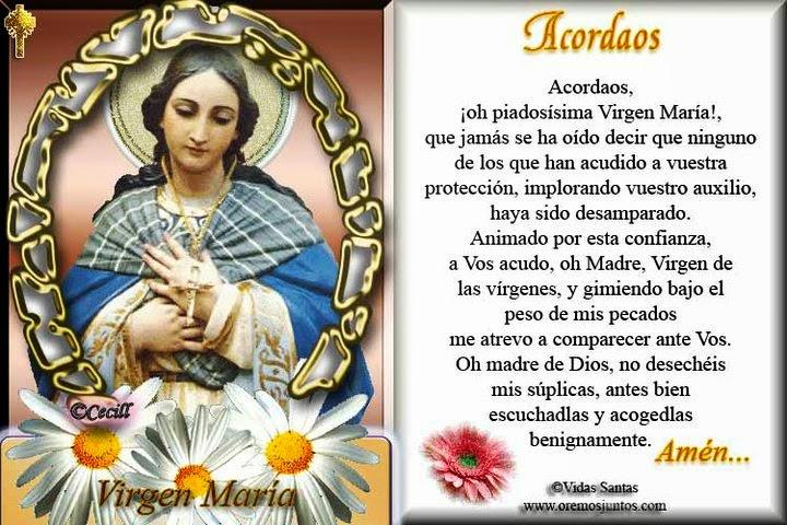 Virgen María - Acordaos