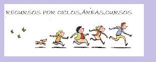 RECURSOS WEBS POR CICLOS,ÁREAS, CURSOS.