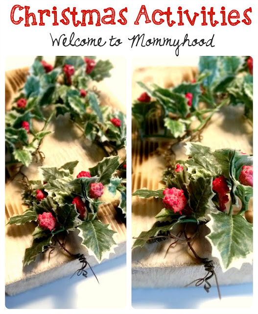 Christmas fine motor activities by Welcome to Mommyhood #12daysofchristmas, #preschoolactivities, #montessori, #geoboard, #christmasactivitiesforkids