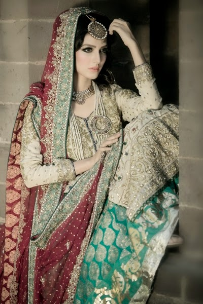 Maria b bridal collection 2015 16 pakistani bridal dresses 2015 from