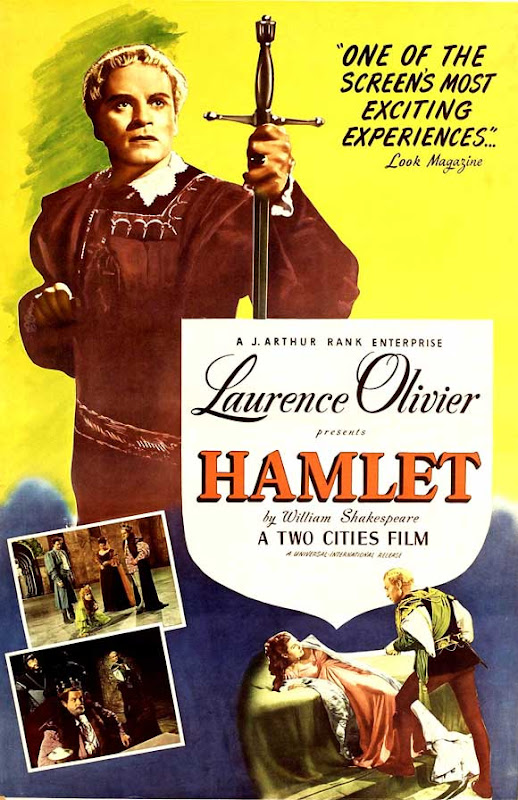 Hamlet 1948 movie poster