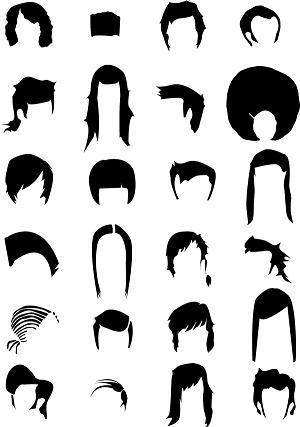 Cute Cartoon Hairstyles for Long Hair