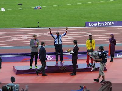 Mo Farah, gold medal