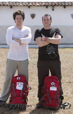Jean et Norbert de Top Chef dans Pékin Express