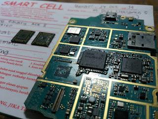 Samsung Galaxy Ace Reboot berulang, Mati total karena EMMC kena