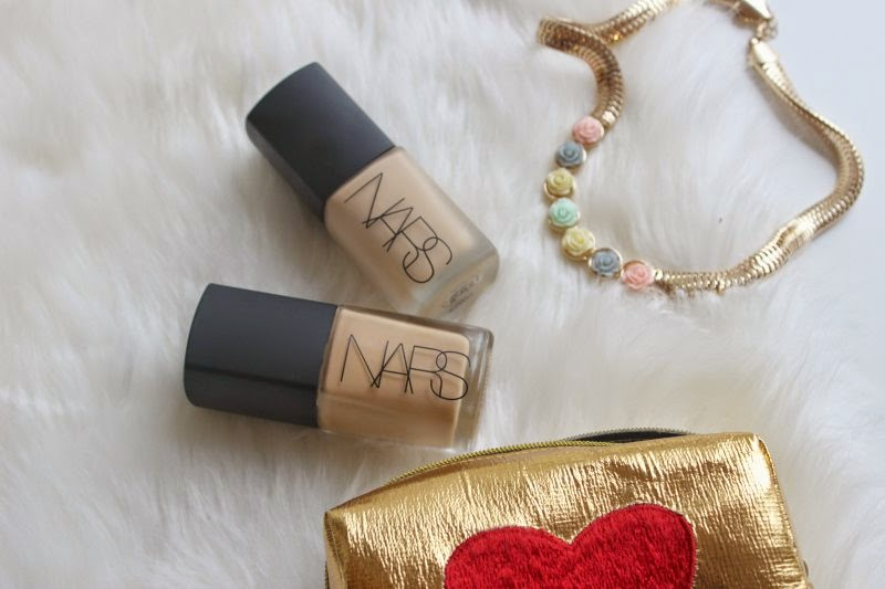 NARS Sheer Glow vs NARS Sheer Matte Foundation