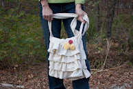 Ruffled Messenger Bag Tutorial