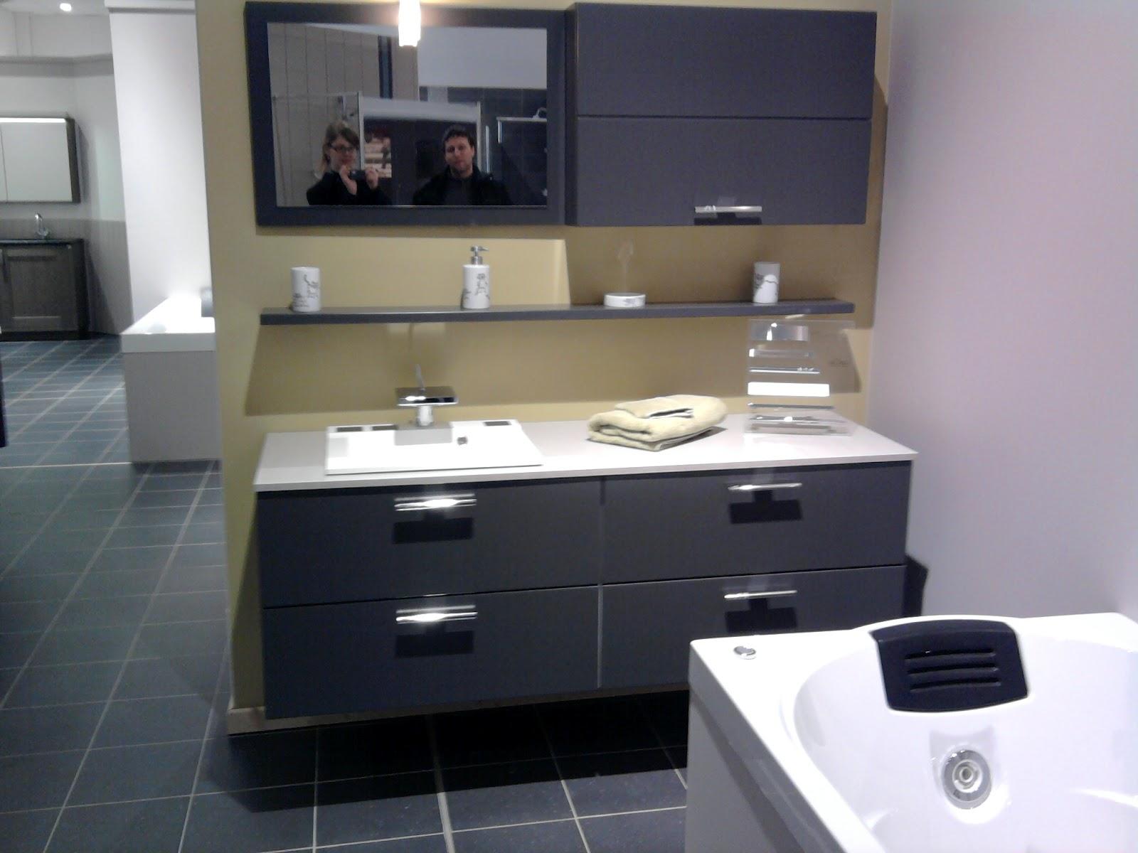 La construction de notre maison etape 13 deuxi me for Choisir couleur salle de bain