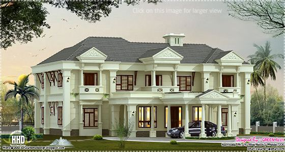 luxury villa elevation