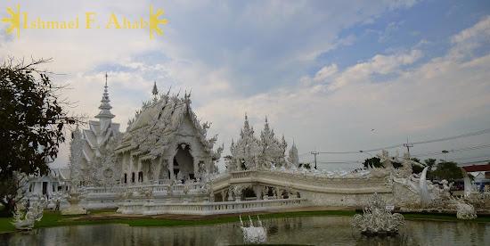 Wat Rong Khun in Chiang Rai, North Thailand