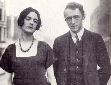 Ο Arnold Bax με την Harriet Cohen