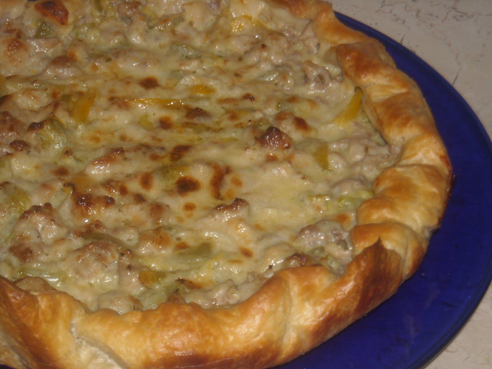 Le ricette di lella e torta salata con peperoni for Torte salate con pasta sfoglia