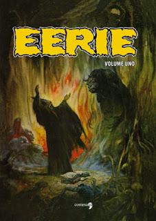 Eerie, Volume 1 – L'orrore a casa tua, copertina
