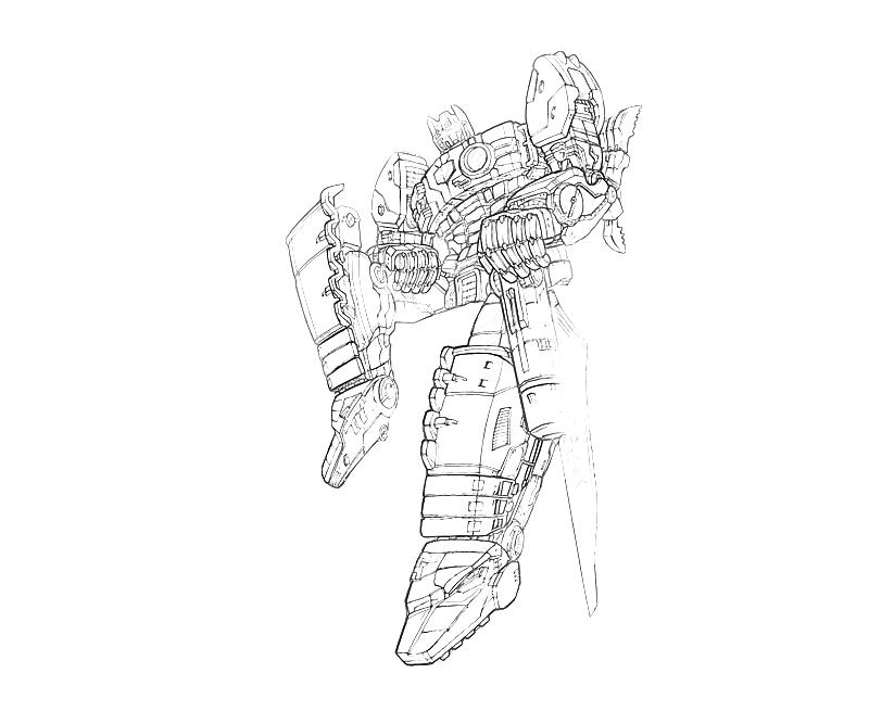 transformers coloring pages grimlock toy - photo#22