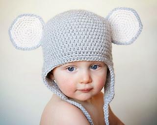 mũ len ngộ nghĩnh cho bé trai