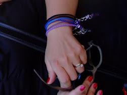 Twarze,ręce ,szyje :) mojej biżuterii