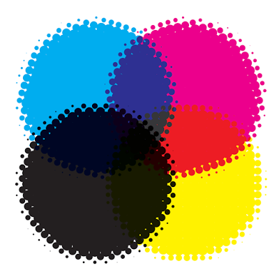 CMYK for ink cartridges