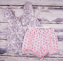 Flutter Top and Retro Shorts Sets