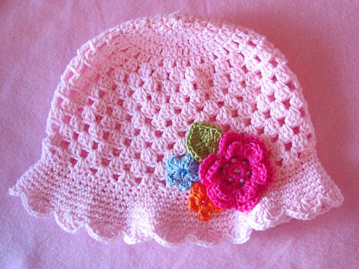 Gorros tejidos a ganchillo para bebé - Imagui