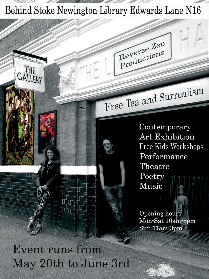 Free Tea and Surrealism Exhibition 2016