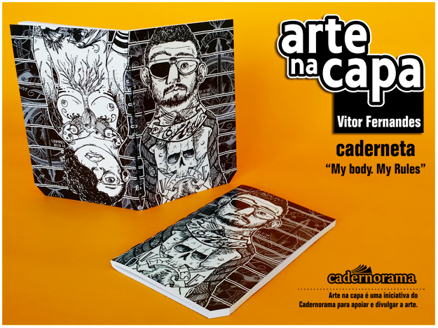 Arte na Capa - Vitor Fernandes