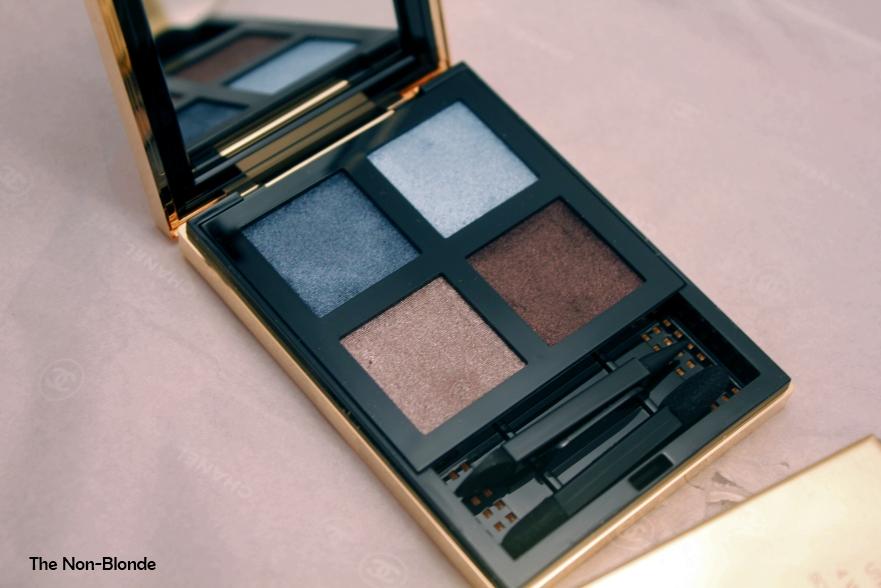 Ysl pure chromatics 4 wet dry eyeshadows no 3 the non blonde ysl pure chromatics 4 wet dry eyeshadows no 3 ccuart Gallery