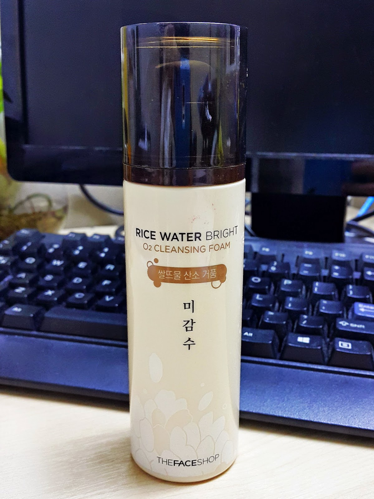[Review] The Face Shop Rice Water Bright O2 Cleansing Foam