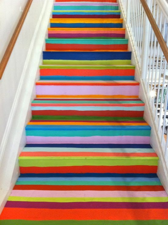 carpet stairs on wood stairs