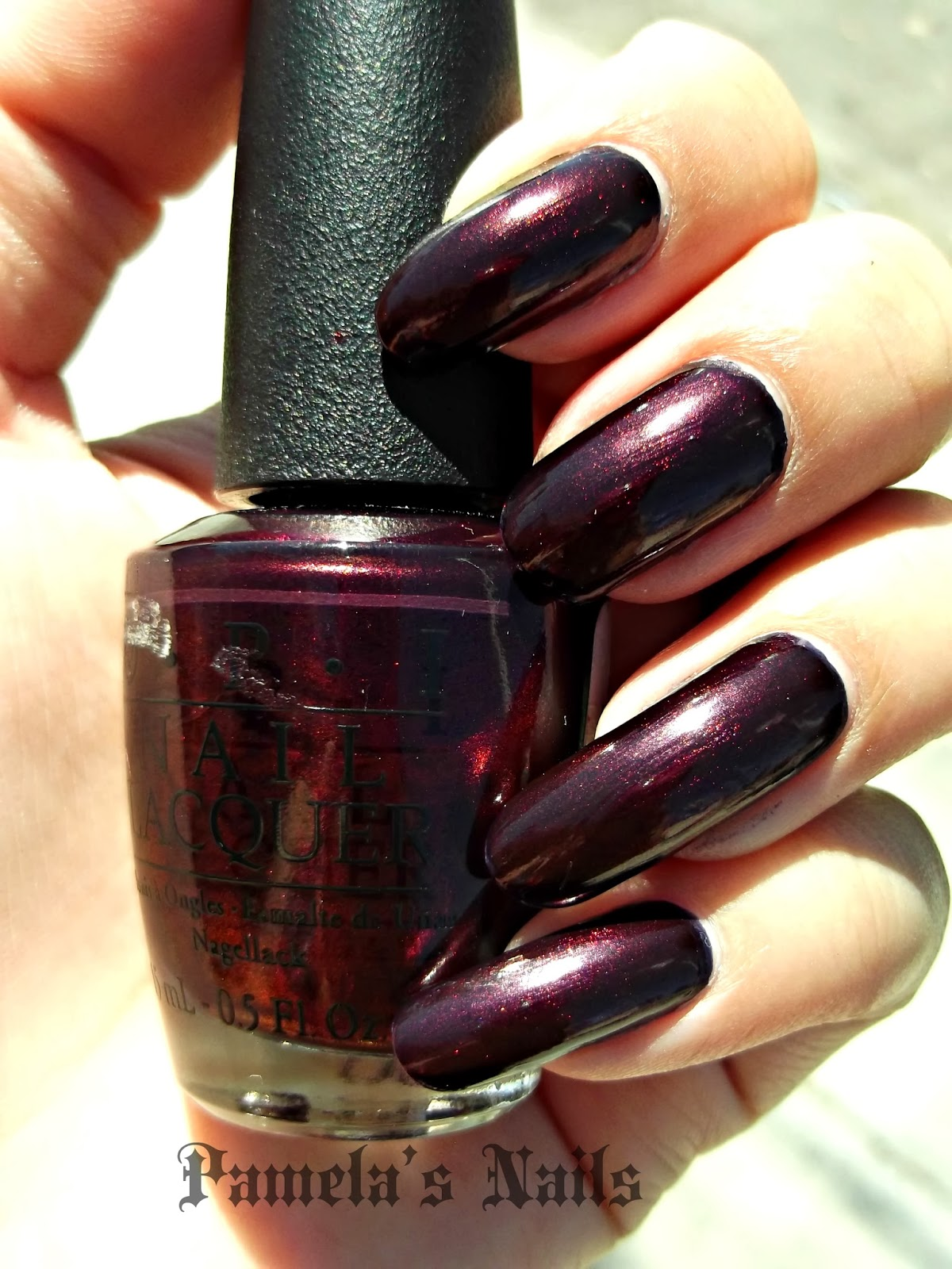 Pamela\'s Nails: Welcome to Fall- OPI Every Month Is Oktoberfest