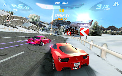 game samsung galaxy Asphalt 6
