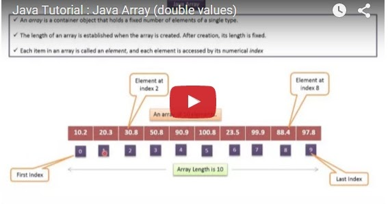 Java ee java tutorial java array double values for Object pool design pattern java example