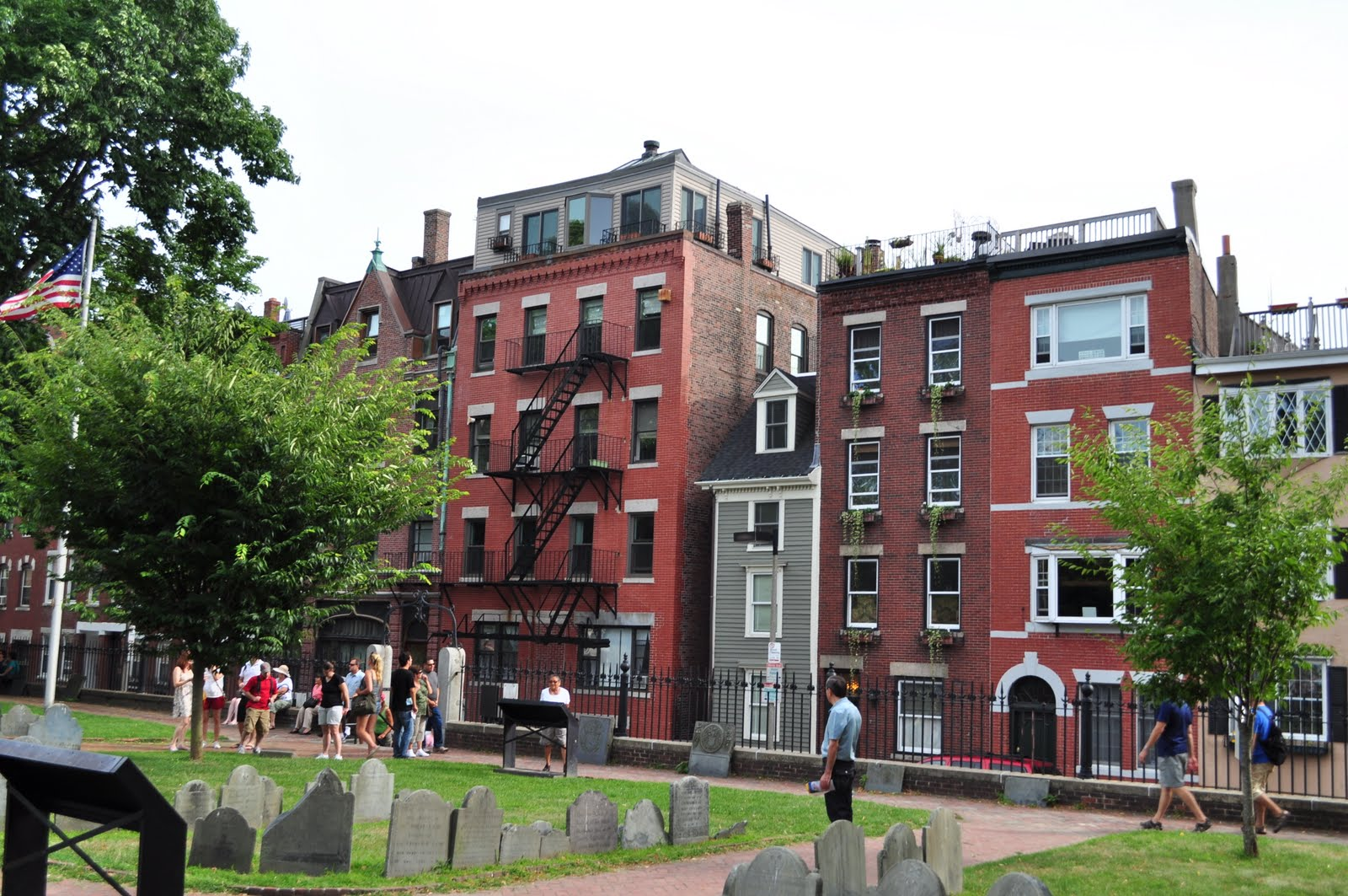 the reversed view of massachusetts the old spite house