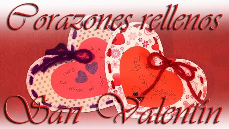 corazones rellenos para san valentin