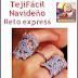 TejiFacil Navidad (Reto EXPRESS): Patrones y materiales!!! :)